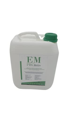 5 Liter Effektive Mikroorganismen 5 Ltr. EM Pro aktiv Bodenaktivator EM - Aktiv...