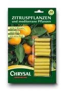 Chrysal Zitrus- und mediterrane Pflanzen Düngestäbchen
