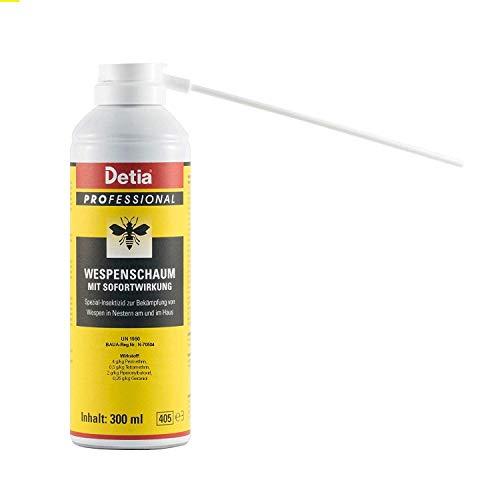 Detia - Wespenschaum - 300 ml - zur Bekämpfung von Wespen in Nestern an und im...