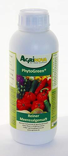 PhytoGreen®-Algensaft - 1 Liter - Natürlicher Algensaft als K-Dünger zur...