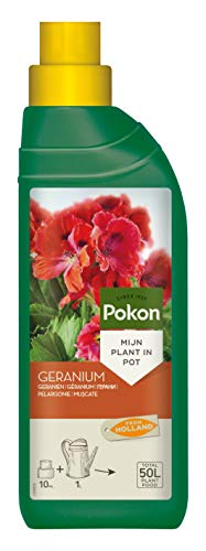 Pokon Geranien Flüssigdünger, Geranium Dünger für prachtvolle Blüten auf...