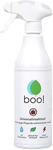boo! Insektenspray - Insektenschutz als Spray Gegen Mücken, Milben, Bettwanzen...