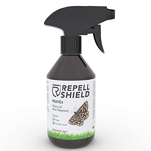RepellShield Anti Mottenspray gegen Motten aller Art - Natürliches...