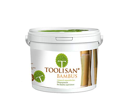 Bambusdünger TOOLISAN mit Langzeitwirkung - 2,5 kg Eimer* (8,76 €/kg)