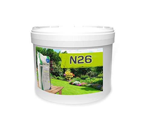 TerraDomi 10 kg Ammonsulfatsalpeter N26 Stickstoff-Dünger für den Frühling I...