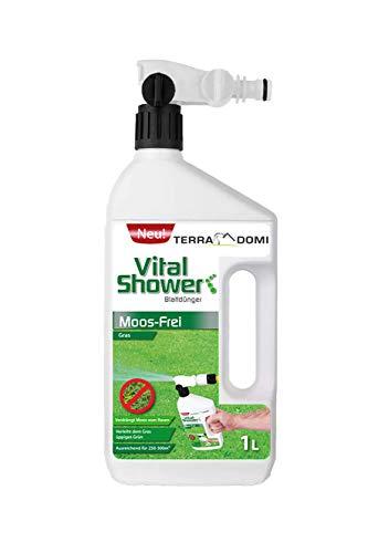 Terra Domi Vital Shower Moos Frei, 1 L, Rasendünger für bis zu 300 m²,...