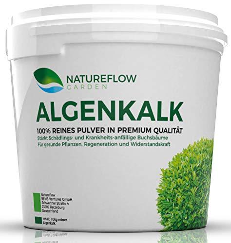 Natureflow Algenkalk Pulver für Buchsbaum - Widerstandskraft und Regeneration...