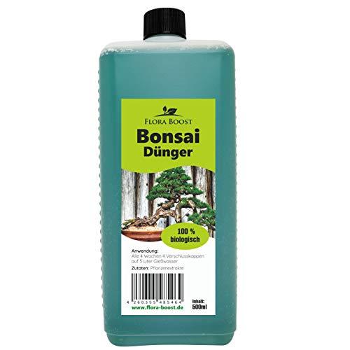 Konfitee Bonsai Dünger - Dünger für Bonsai - Flora Boost für gesunde Bonsai...