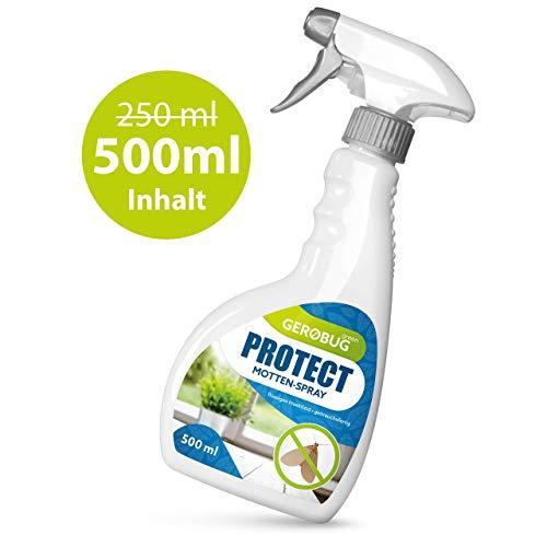 Gerobug 500ml Protect Mottenspray - Einfache Mottenbekämpfung für...