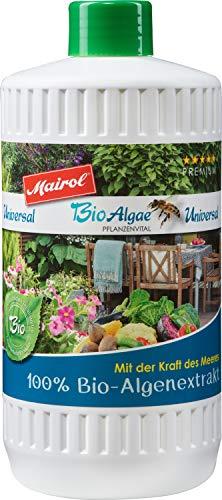 Mairol BioAlgae 100% Bio Algenextrakt Pflanzenstärkung, universal für alle...