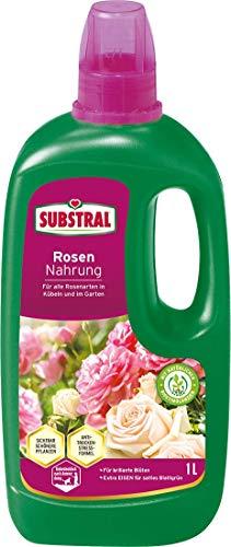 Substral Rosendünger, Flüssigdünger mit Extra Eisen, für alle Rosen auf...