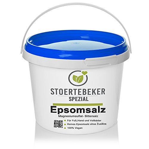 4kg Bittersalz Epsom Salz MgSO4 5kg Eimer - Greenline Serie