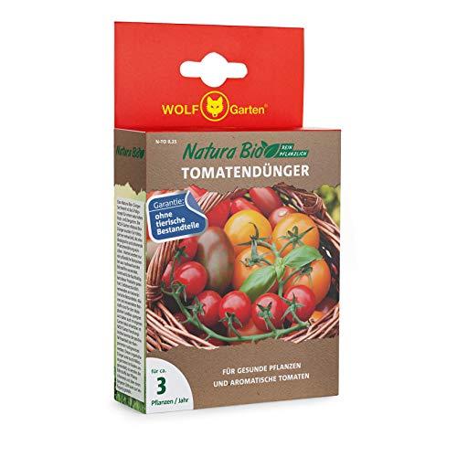 WOLF-Garten - 'Natura Bio' Tomatendünger N-TO 0,25 für ca. 3 Pflanzen/Jahr;...