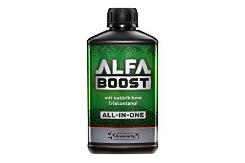 Growsartig ALFA Boost All-IN-ONE Pflanzen-Booster mit Triacontanol 0,5 Liter....