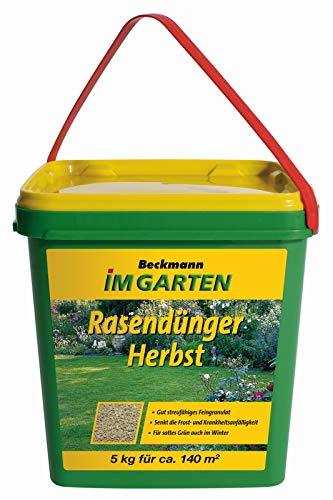 Rasendünger Herbst Rasendünger Beckmann 5 kg