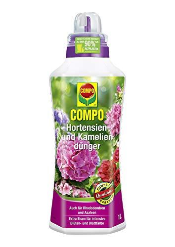 Compo Hortensien- und Kameliendünger für alle Morbeetpflanzen im Haus, auf...