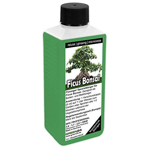 GREEN24 Ficus Ginseng retusa microcarpa Bonsai Dünger, Chinesische Feige,...