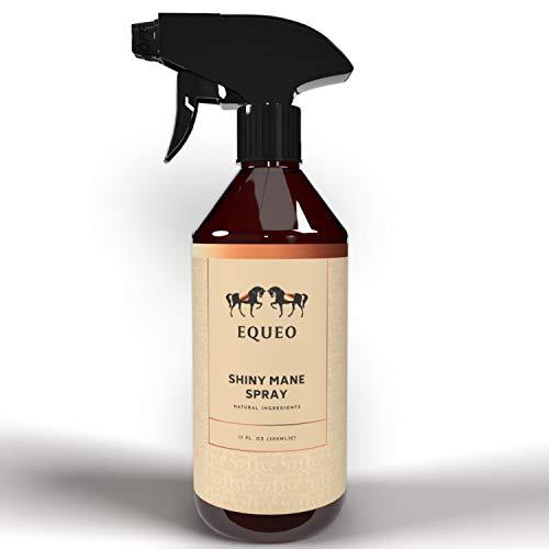 EQUEO Mähnenspray für Pferde Mähne - Shiny Mane Spray 500ml I Mähnenspray...