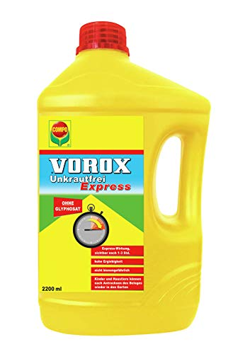 VOROX Unkrautfrei Express, Bekämpfung von Unkräutern an Zierpflanzen, Obst und...