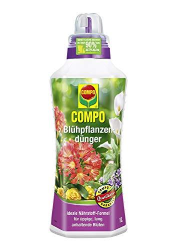 Compo Blühpflanzendünger für alle Blühpflanzen im Zimmer, auf Balkon und...