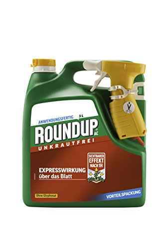 Roundup AC Unkrautfrei, Anwendungsfertiges Spray zur Bekämpfung von...