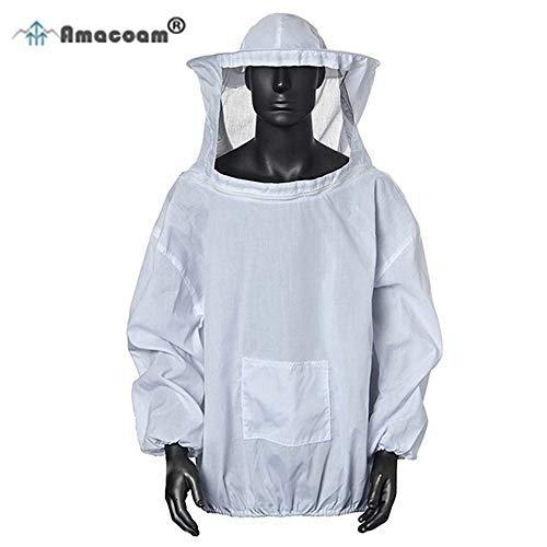 Amacoam® Imkerjacke Imkerjacke mit Hut Professional Imkerbekleidung Imker...