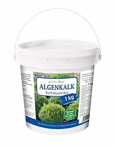 myGardenlust Algenkalk Buchsbaumretter 1 kg – Zulässig für den Bio-Anbau –...