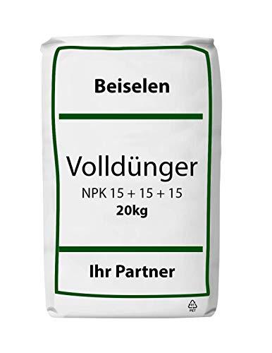 NPK Dünger 15+15+15 20 kg Rasendünger Universaldünger Volldünger