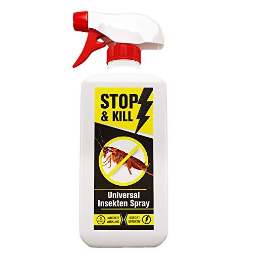 STOP & KILL Universal Insekten Spray 500ml | Bekämpfung mit Sofort- und...