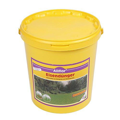 10 kg Eisendünger Moosverdränger Eisensulfat Rasendünger Allflor
