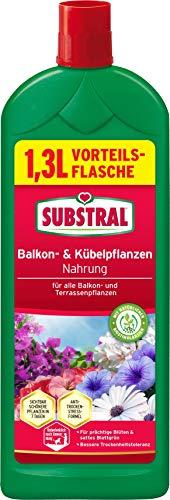 Substral Balkon und Kübelpflanzen Nahrung, Qualitäts-Flüssigdünger für alle...