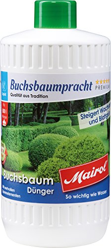 Mairol Buchsbaum-Dünger Buchsbaumpracht Liquid 1.000 ml