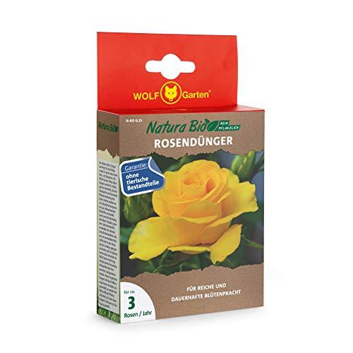 WOLF-Garten - 'Natura Bio' Rosendünger N-RO 0,25 für ca. 3 Rosen; 3854002