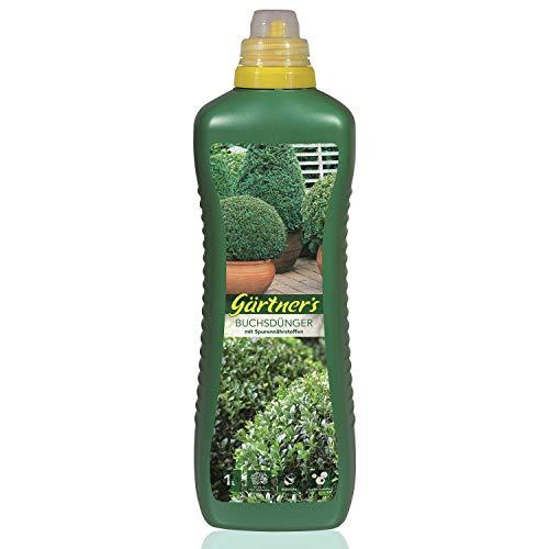 Gärtner's Buchsbaumdünger 1 Liter I Buchsbaum Dünger für Kübelpflanzen...
