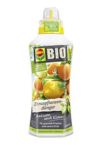 COMPO BIO Zitruspflanzendünger für alle Zitruspflanzen-Arten, Natürlicher...