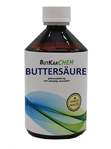 ButKarCHEM 500ml Buttersäure (Variante 500ml-3000ml) (Artnr. OWJJ1) by Karbid...