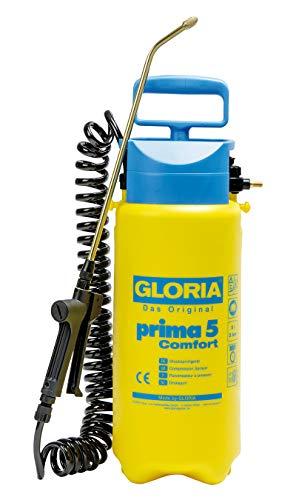 GLORIA Drucksprüher prima 5 Comfort | Gartenspritze | 5 L Füllinhalt |...