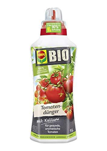 Compo BIO Tomatendünger für alle Tomatenpflanzen, Natürlicher...