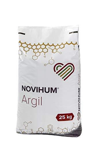 NOVIHUM Argil 25 kg - Bodenaktivator für Gras, Rasen, Bodendecker, Obst- und...