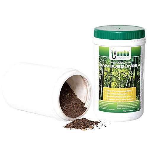 Jumbogras 1 x Bambusdünger mit Langzeit-Wirkung, Ökodünger für alle...