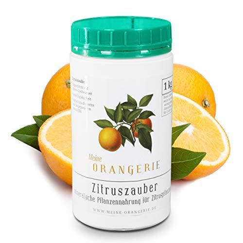 Meine Orangerie Zitrusdünger für alle Zitruspflanzen - [1 kg] - Premium...