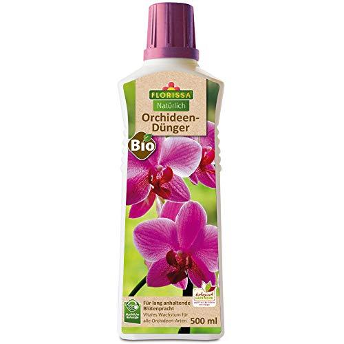 Florissa Natürlich 58860 Bio Orchideendünger für alle Orchideenarten | lang...