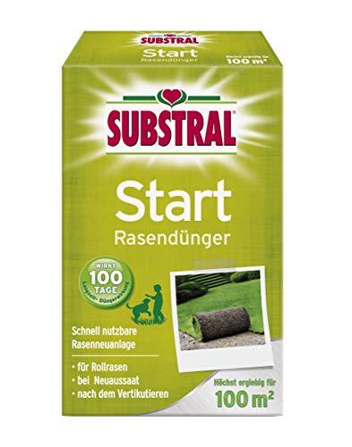 Substral Start-Rasen Dünger für die Rasenneuanlage durch Aussaat & Rollrasen,...