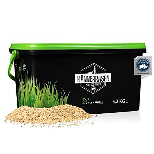 Green Home® Rasendünger mit Moosvernichter - 5,2kg Rasendünger mit...