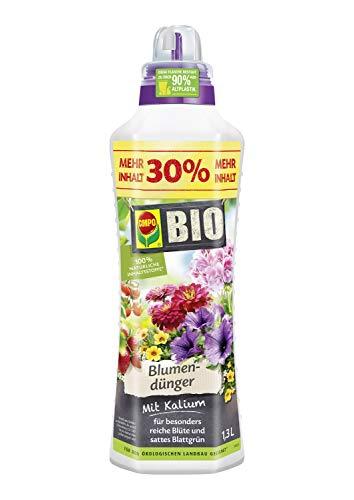 Compo BIO Blumendünger für alle Zimmer-, Balkon- und Terrassenpflanzen,...
