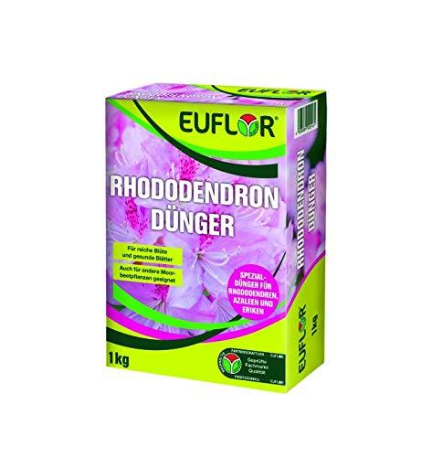 Euflor Rhododendrondünger 1kg Faltschachtel•Organisch-mineralischer...