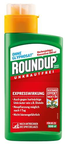 Roundup Express Konzentrat Unkrautvernichter gegen Unkräuter und Gräser, Ohne...