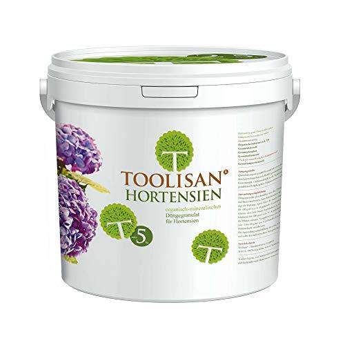 Hortensiendünger TOOLISAN mit Langzeitwirkung* - 5 kg Eimer (5,78 €/kg)