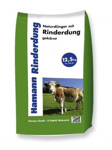 Hamann Naturdünger mit Rinderdung 12,5 kg - organisch-biologischer...