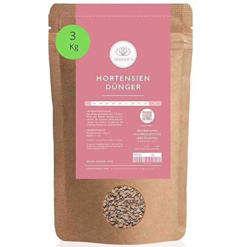 Hortensiendünger 3 Kg I 100% Langzeitdünger I Optimaler Hortensien Dünger...